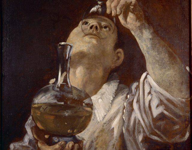 annibale-carracci-giovane-che-beve-christ-church