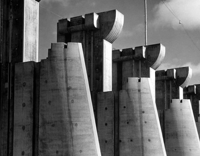 Fort Peck Dam, (image used on first LIFE Magazine cover, November 23, 1936)