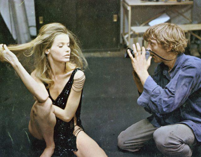 Veruschka von Lehndorff and David Hemmings in Michelangelo Antonioni's BLOW-UP (1966). Courtesy Film Forum via Photofest. Playing Friday, July 28 through Thursday, August 3.