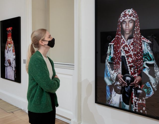 Installation views of Leila Alaoui: Rite of Passage
