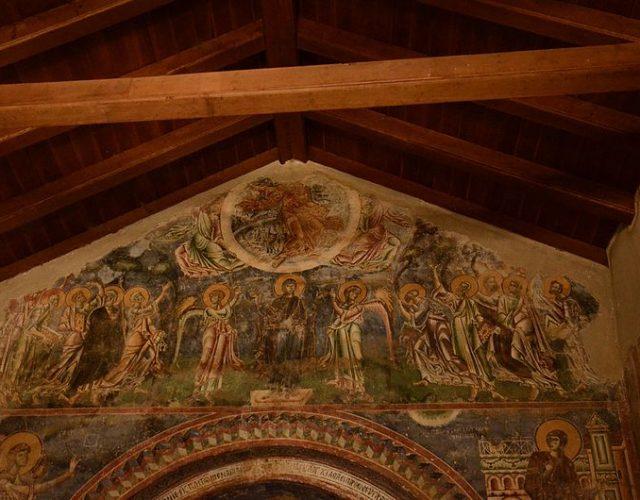 Church_of_Saint_George_in_Kurbinovo,_western_gable