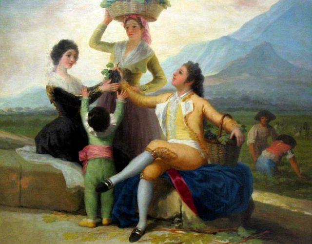 Francisco-Jose-De-Goya-Y-Lucientes-Autumn-or-The-Grape-Harvest